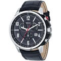 DKNY Men's Stainless Steel Black Strap Chronograph Watch