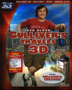 Gulliver's Travels 3D (Blu-ray/DVD)