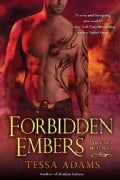 Forbidden Embers: A Dragon's Heat Novel (Paperback)