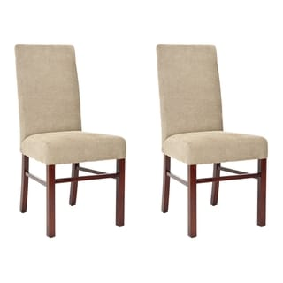 Safavieh Classical Parsons Sage Cotton Side Chairs (Pack of 2)