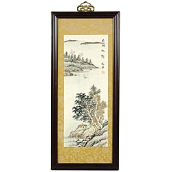 Silk Zen Retreat Framed Wall Art (China)