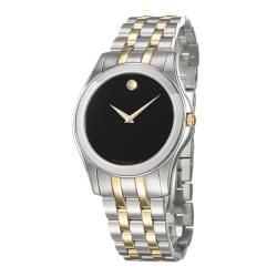 Movado Men's 'Corporate Exclusive' Two-tone Steel Watch