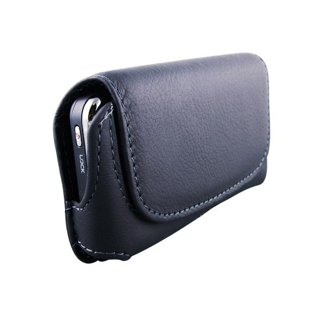 INSTEN Horizontal Leather Phone Case Cover for HTC Droid Incredible