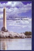 United States Government Manual, 2012 (Paperback)