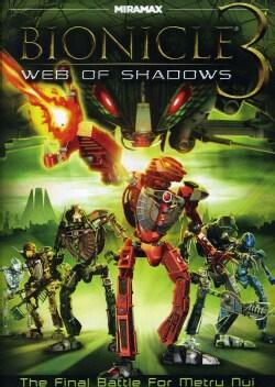 Bionicle 3: Web Of Shadows (DVD)