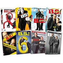 Penn & Teller: BS: Eight Season Pack (DVD)