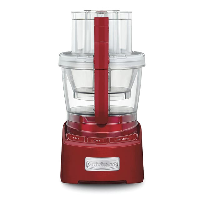 Cuisinart FP-12MR Metallic Red Elite Collection 12-cup Food Processor