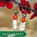 Susen Foster Silverplated Desert Blossom Multi-gemstone Earrings