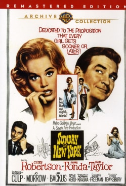 Sunday In New York (DVD)