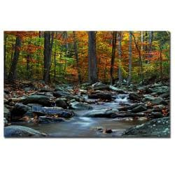 CATeyes 'Hymn an Autumn' Canvas Art