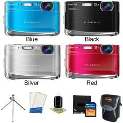 Fujifilm FinePix Z70 12.2MP Digital Camera with Deluxe Kit (Refurbished)