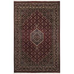 Hand-knotted Mandara Oriental New Zealand Wool Rug (5'6 x 8'6)