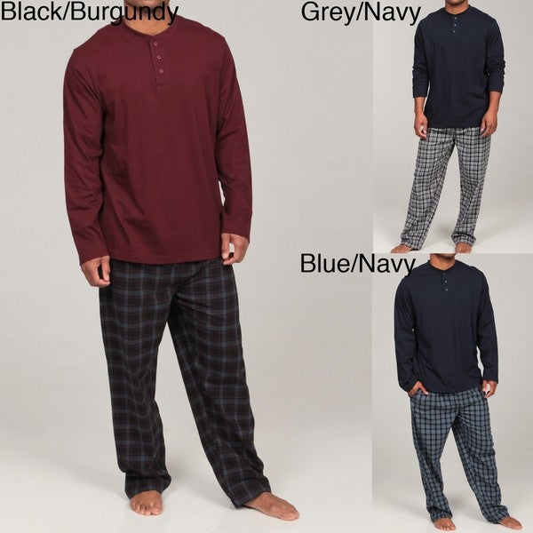 Majestic Men's Flannel Pajama Set