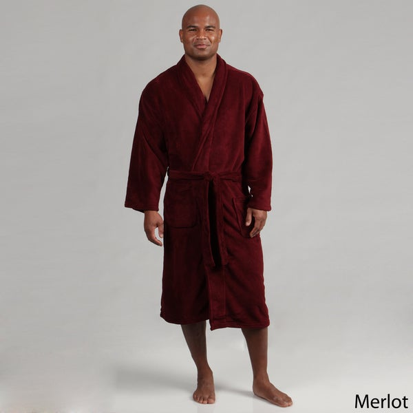 Majestic Men's Cozy Fleece Robe