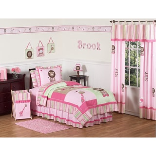 Sweet JoJo Designs Jungle Friends 3-piece Full/ Queen-size Bedding Set