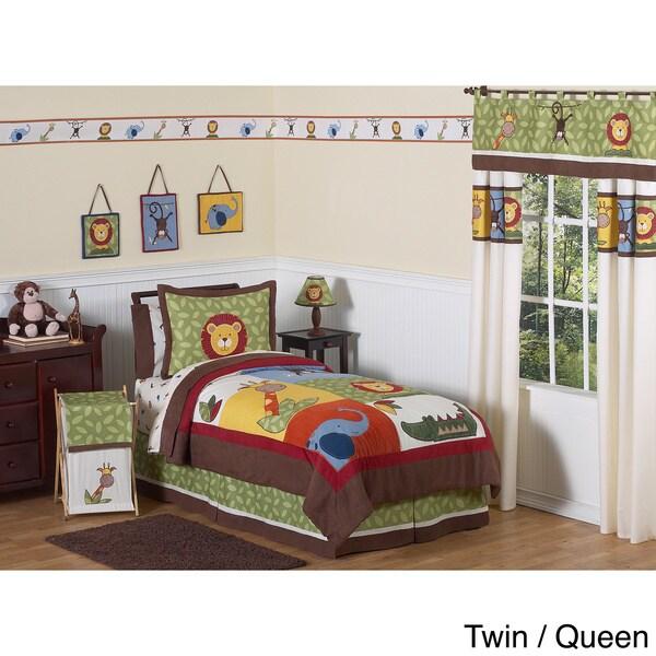 Sweet JoJo Designs Jungle Time Bedding Set