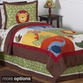 Sweet JoJo Designs Jungle Time Bedding Set