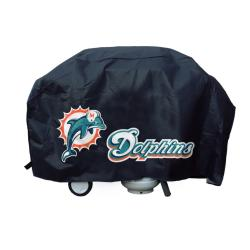 Miami Dolphins Deluxe Grill Cover