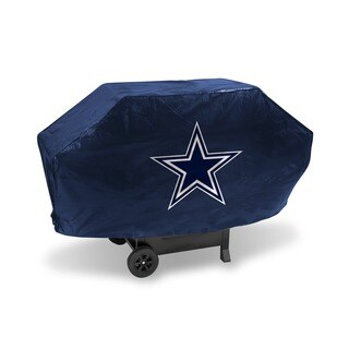 Rico Dallas Cowboys Weatherproof Vinyl/Felt NFL Deluxe Grill Cover