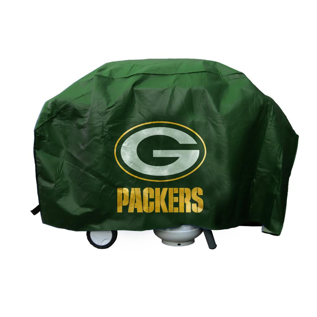 Green Bay Packers Commemorative Deluxe Grill Cover with Felt Lining