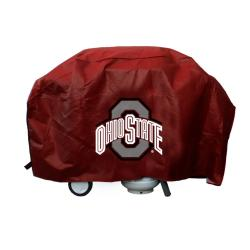 Rico Official Ohio State Buckeyes Logo Deluxe Vinyl Grill Cover