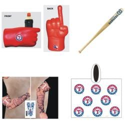 Texas Rangers MLB Gameday Fanpack
