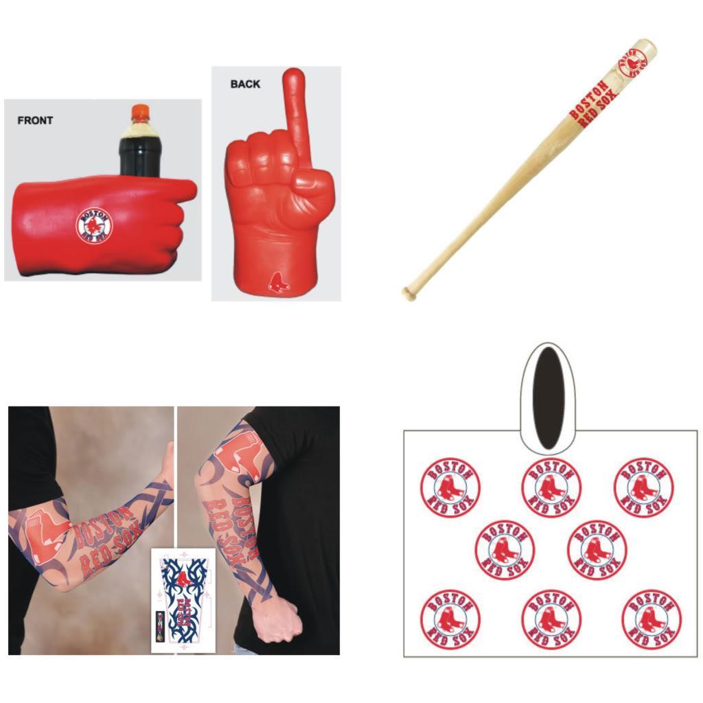 Boston Red Sox MLB Gameday Fanpack