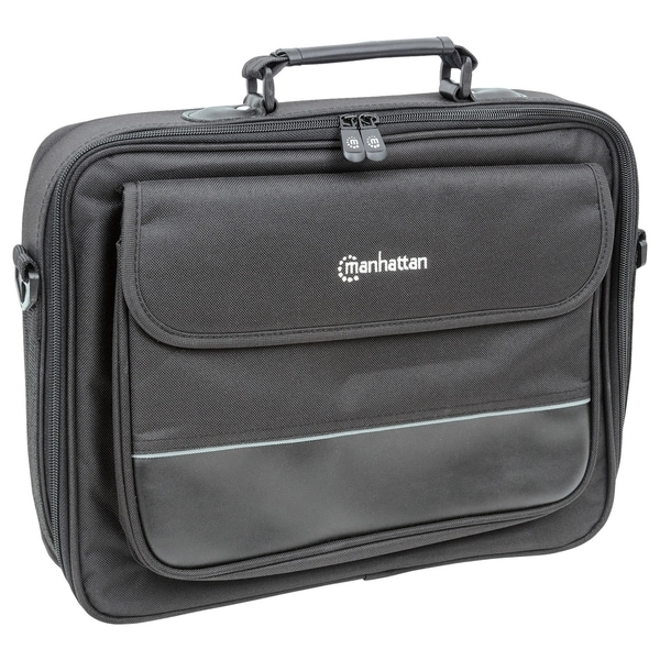 "Manhattan Times Square 15.4"" Widescreen Laptop Briefcase"