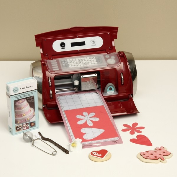 Cricut cake mini die cutting food and cake decorating for Craft die cutting machine