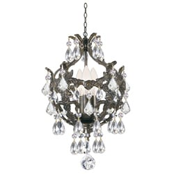 Legacy 3-light Legacy Bronze Finish Chandlier