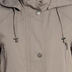 Nuage Women's Removable Hood Zipper Jacket