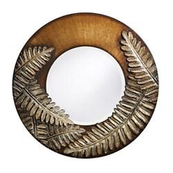 Fern Round 30-inch Mirror