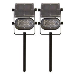 Tricod Ultra-bright Metal Solar Lights (Set of 2)