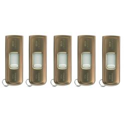 SanDisk 4GB Ultra Titanium Plus USB Flash Drive (Pack of 5)