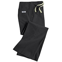 IguanaMed Women's Carbon Black Classic Boot Cut Pants