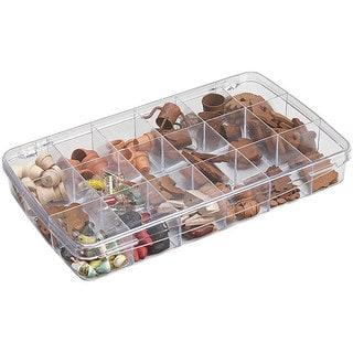 ArtBin Prism 18-compartment Clear Craft Box