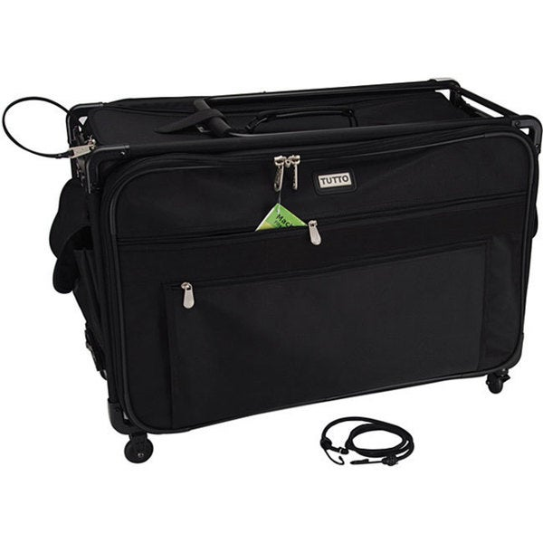 Tutto Machine On Wheels Black Case