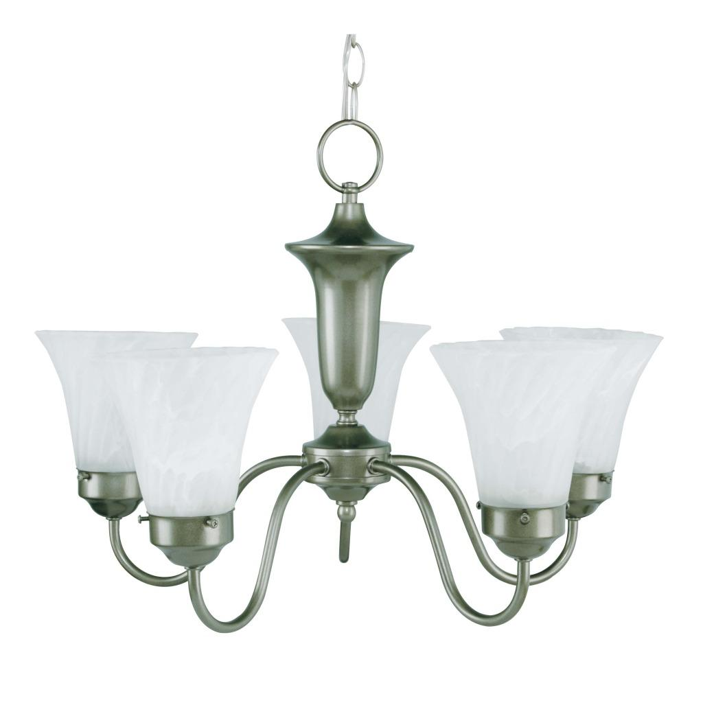 Element Jade Mist 5-light Chandelier
