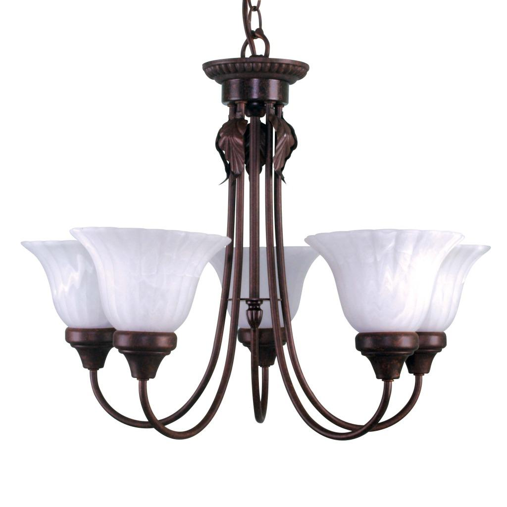 Element Antique Bronze 5-light Chandelier