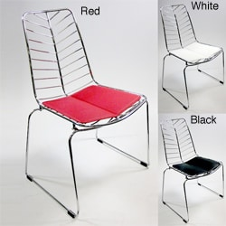 Wire Leaf Dining Side Chairs (Set of 2)