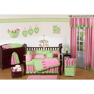 Olivia 9-piece Crib Bedding Set