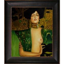 Klimt Paintings 'Judith Klimt I' Hand-painted Framed Canvas Art