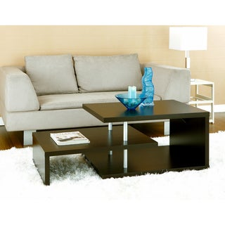 Furniture of America Modern Multi-leveled Coffee Table