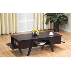 Furniture of America Modern Rectangular Coffee Table