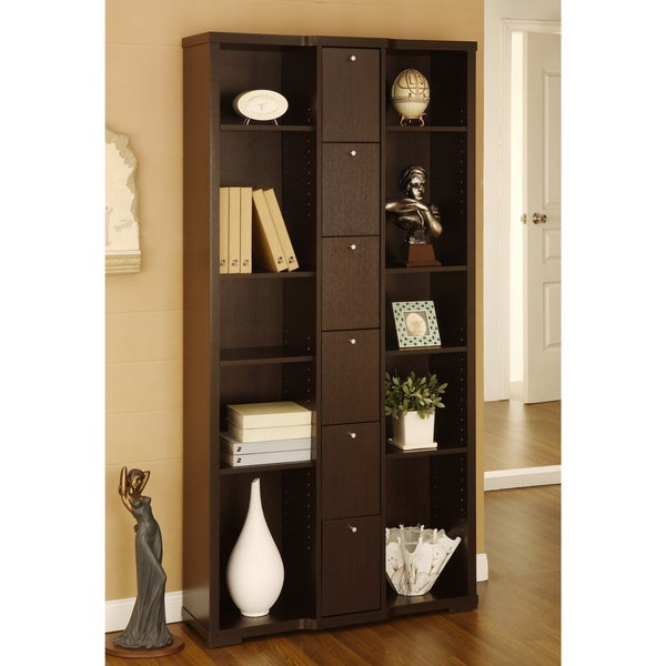 Furniture of America Parke 10-shelf Bookcase/Display Stand