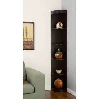 Furniture of America Corner 5-shelf Display Stand