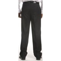 Ferrecci Men's Flat-front Black Stripe Pants