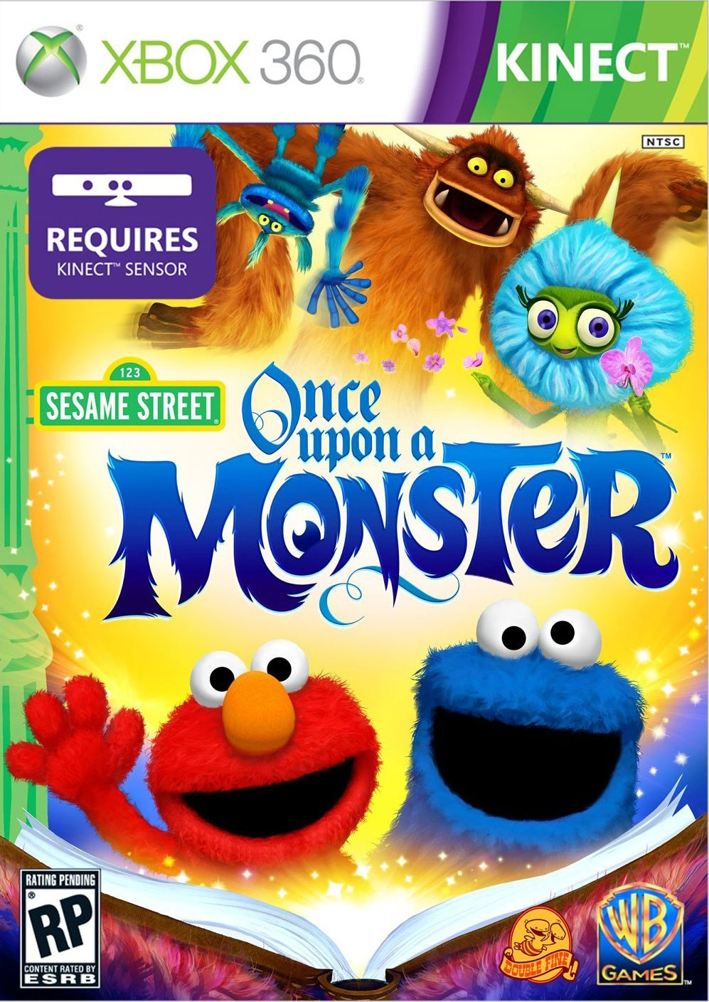 Xbox 360 - Sesame Street: Once Upon A Monster - By Warner Bros