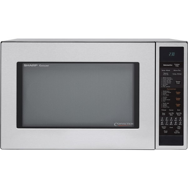 Sharp R930CS Stainless Steel 1.5-cu-ft 900-watt Convection Microwave