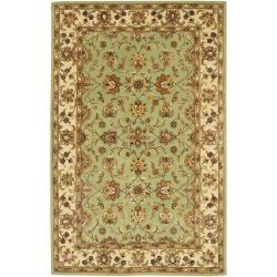 Hand-tufted Mandara Oriental Wool Rug (5' x 7'6)